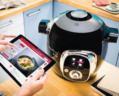 robot de cocina Cookeo Connect de Moulinex