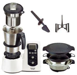 piezas y accesorios de un robot de cocina