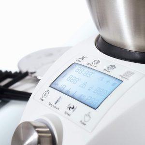 panel de control del robot ChefBot Compact de IKOHS