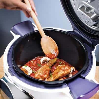 cocinar con el robot de cocina Cookeo de Moulinex