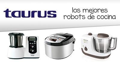 Los mejores robots de cocina taurus mejor calidad del mercado - Robot de cocina taurus master cuisine ...