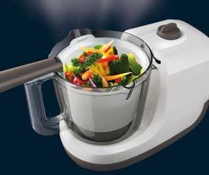 funcionamiento de un robot de cocina