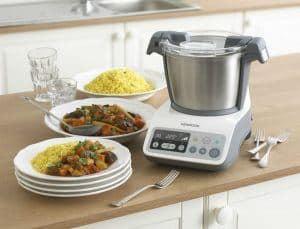 robot de cocina compacto