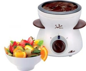 fondue de chocolate eléctrica