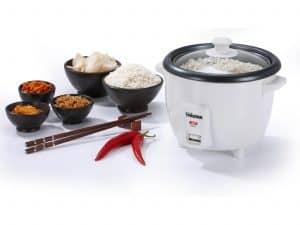 cocedor de arroz blanco