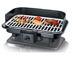 barbacoa eléctrica con grill