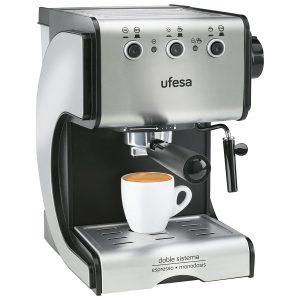 Cafetera expreso ancha