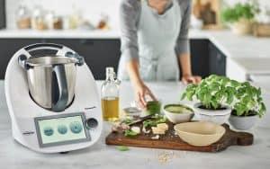 robot de cocina moderno