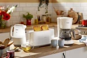 tostadora y otros electrodomésticos