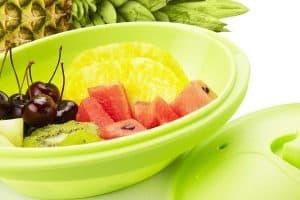 papillote verde con fruta