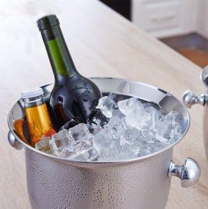 cubo de champán