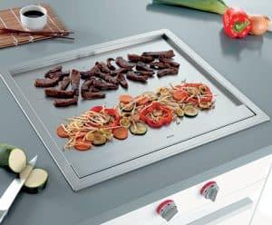 plancha teppanyaki en la cocina