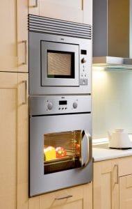 horno encastrable y microondas