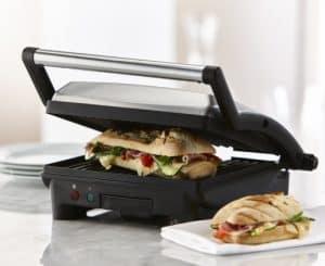 máquina de paninis compacta