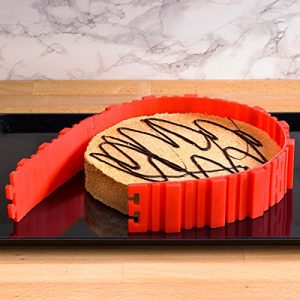 tarta en un molde para tarta