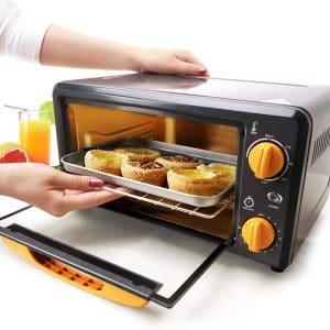 cocinar con mini horno