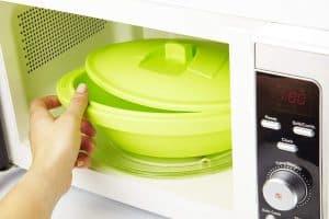 cocinar con papillote en el microondas