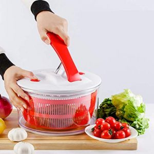 centrifugadora para ensalada roja