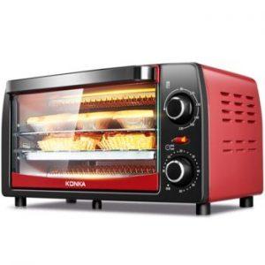 mini horno rojo