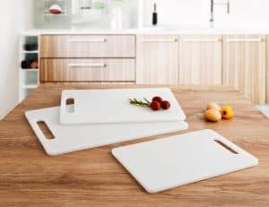 tablas de cortar de plástico