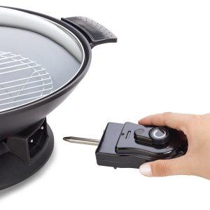 conectar un wok eléctrico