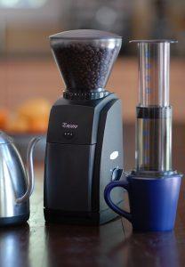 molinillo de café moderno
