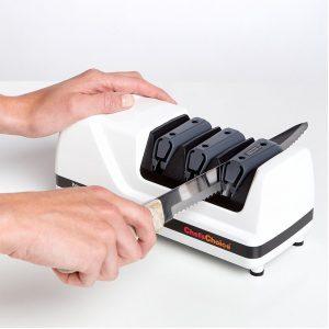 afilador de cuchillos eléctrico grande