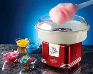 máquina de algodón de azúcar pequeña