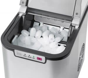 máquina de hielo compacta