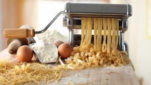 máquina para hacer pasta manual