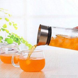 servir desde una jarra de té helado