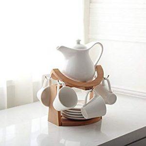 juego de té o café con soporte