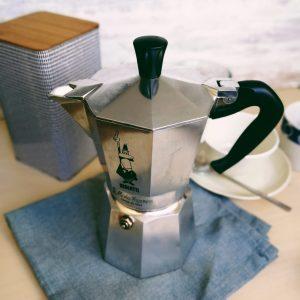 cafetera italiana pequeña