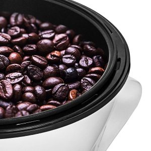 tostador de café eléctrico de cerca